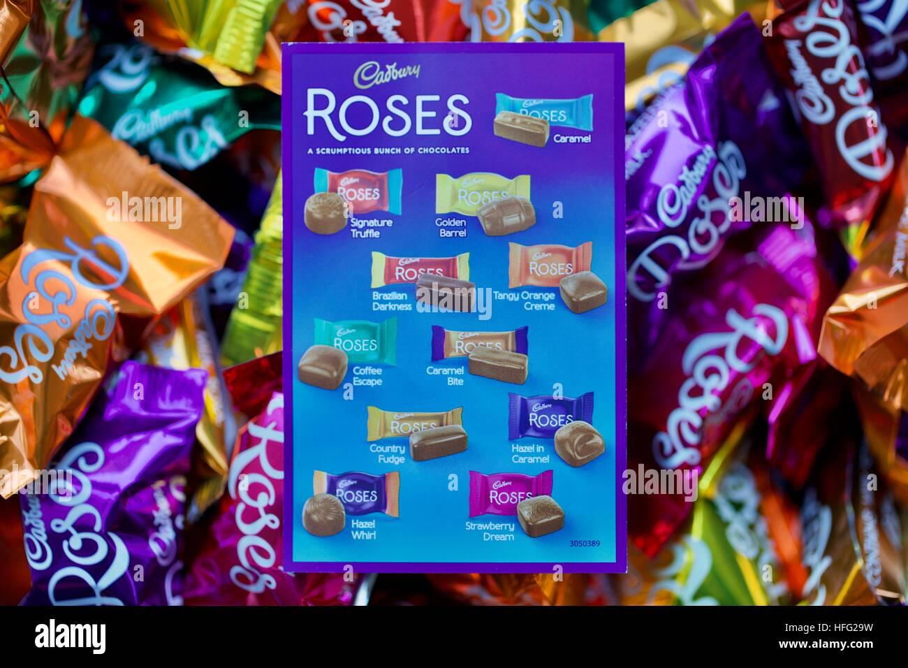 Cadbury Roses Chocolates - Stock Image