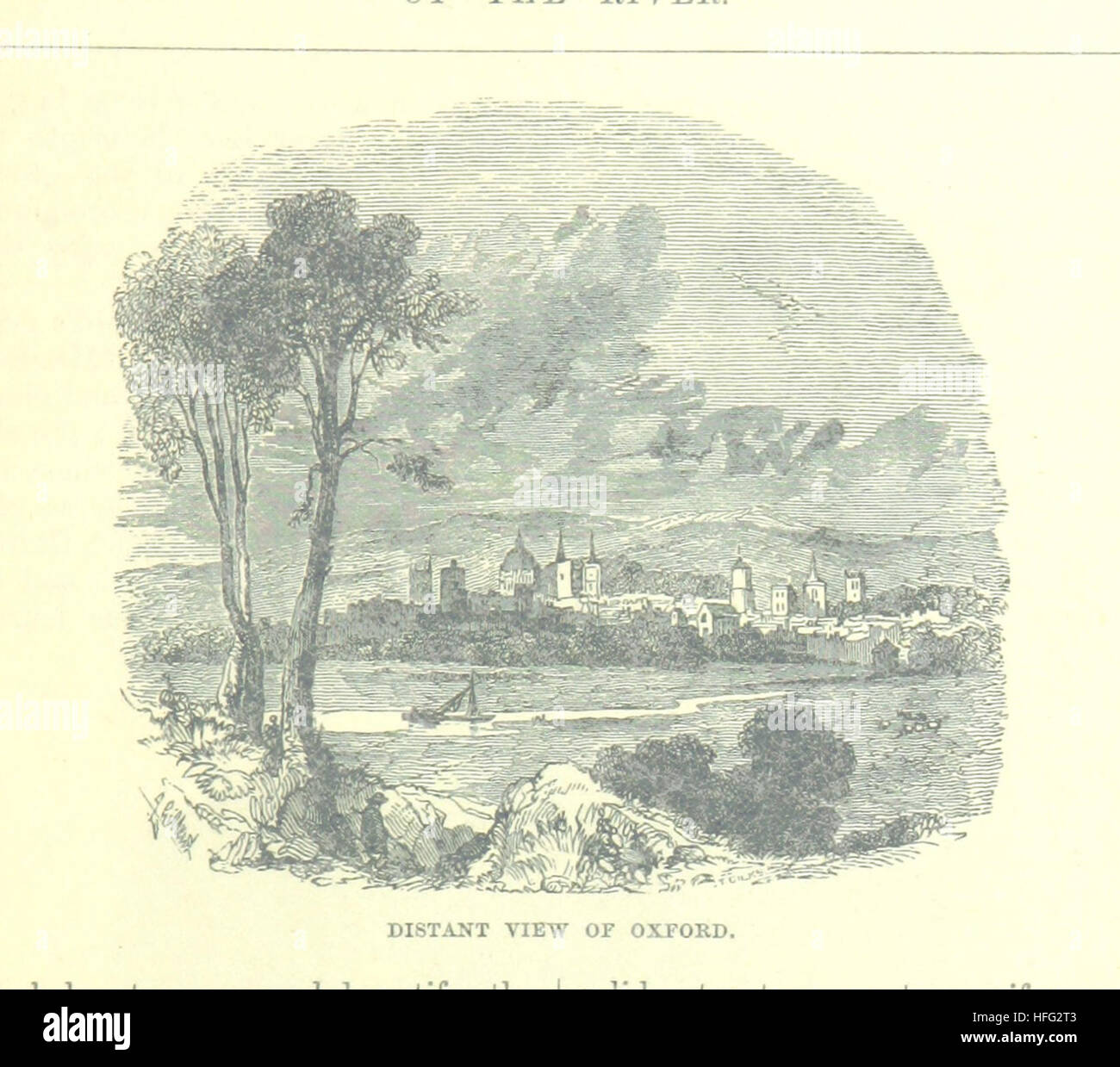 Image taken from page 153 of 'Up the River from Westminster to Windsor and Oxford; a descriptive panorama of - Stock Image
