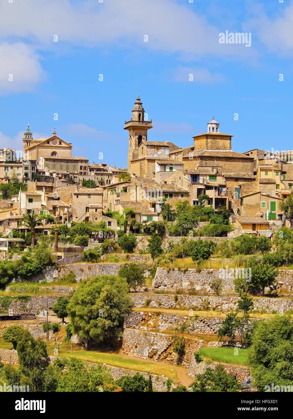 Valldemossa, Mallorca, Balearic Islands, Spain - Stock Image