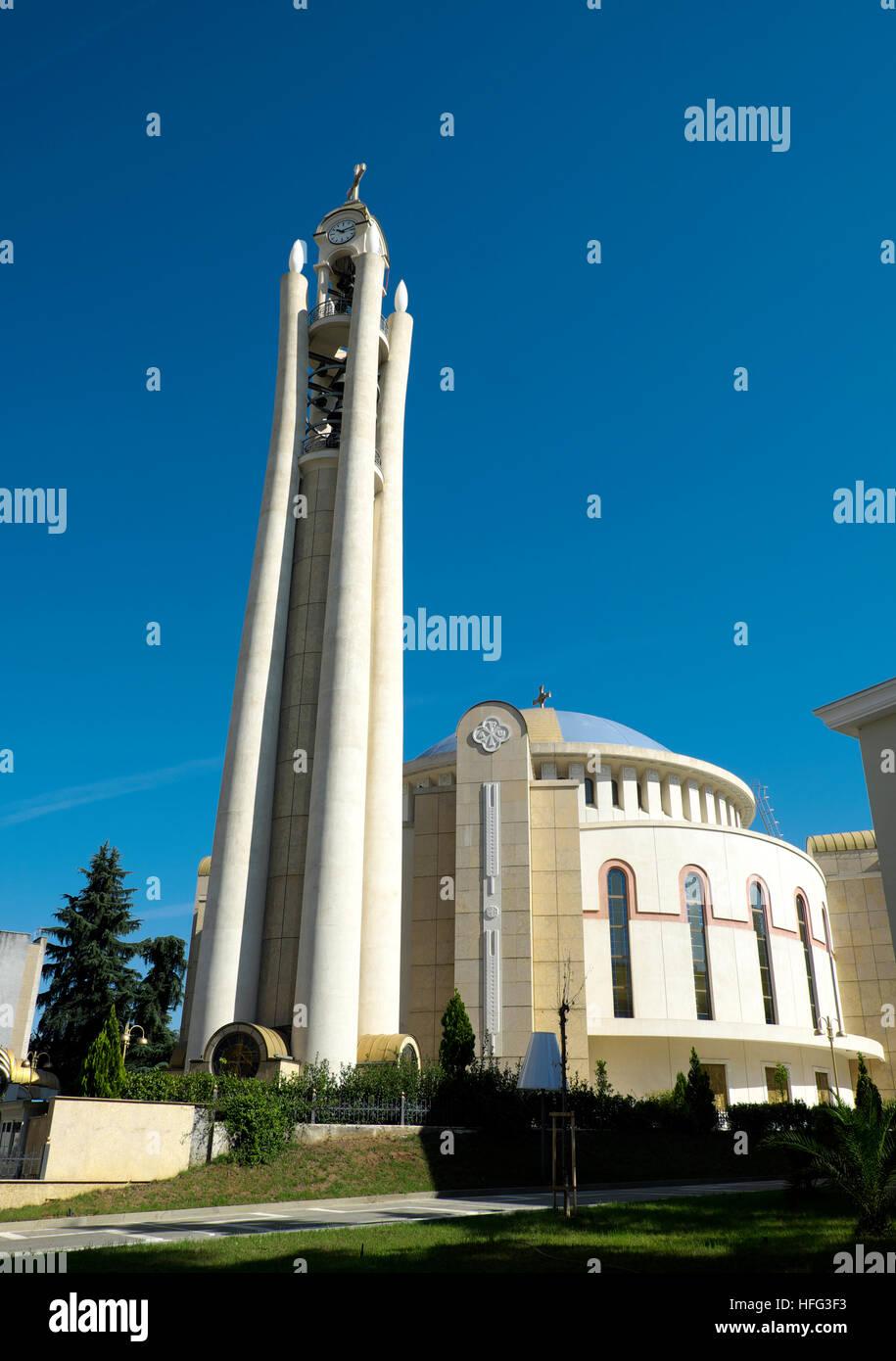 Resurrection of Christ Orthodox Cathedral, Tirana, Albania - Stock Image