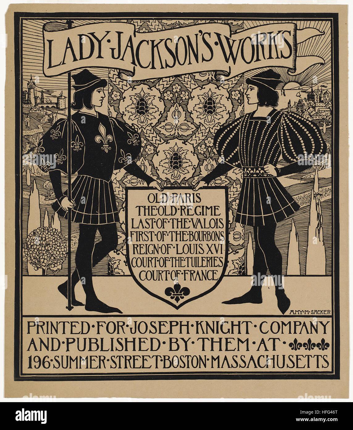 Lady Jackson's works - Stock Image
