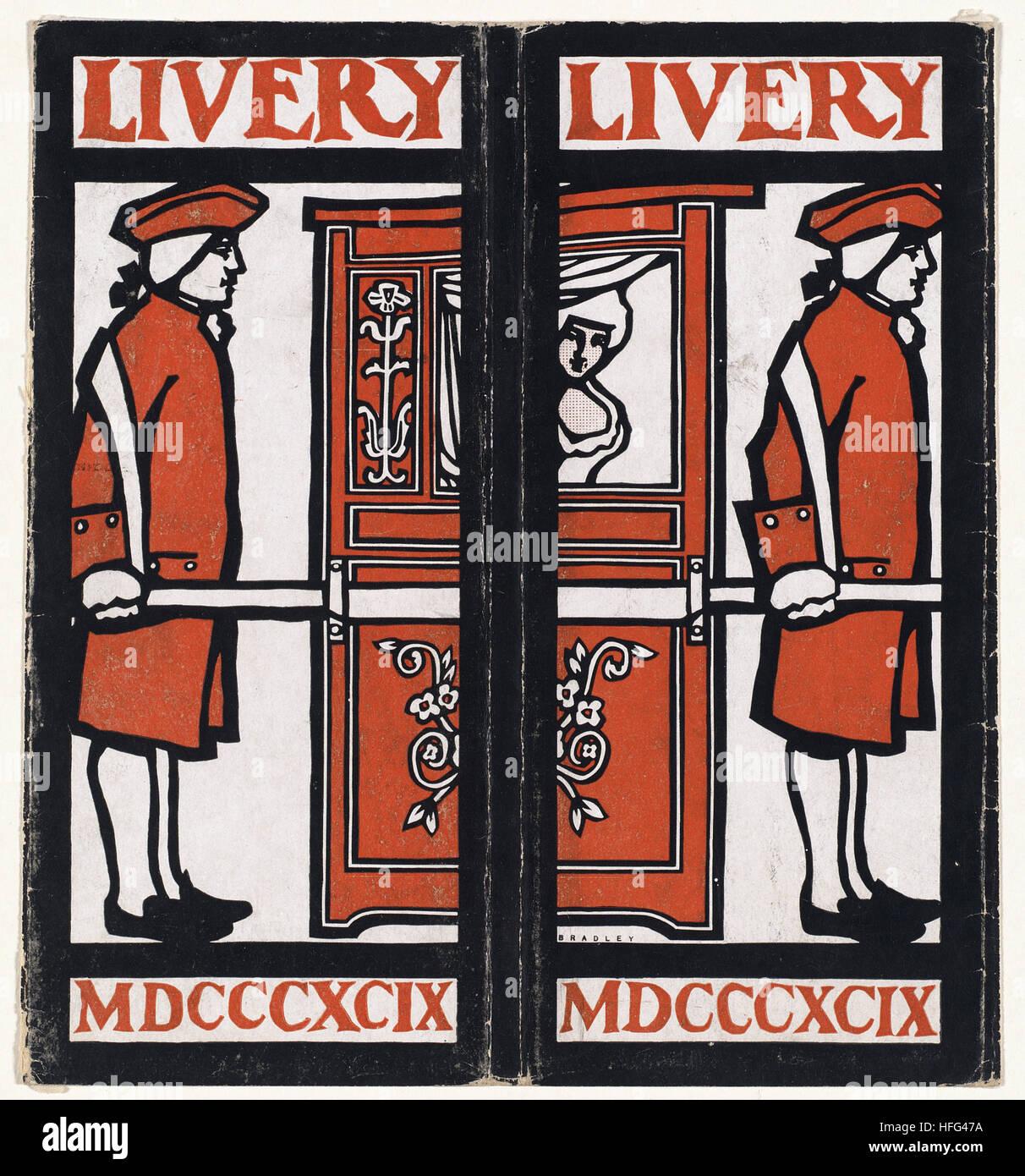 Livery, MDCCCXCIX - Stock Image