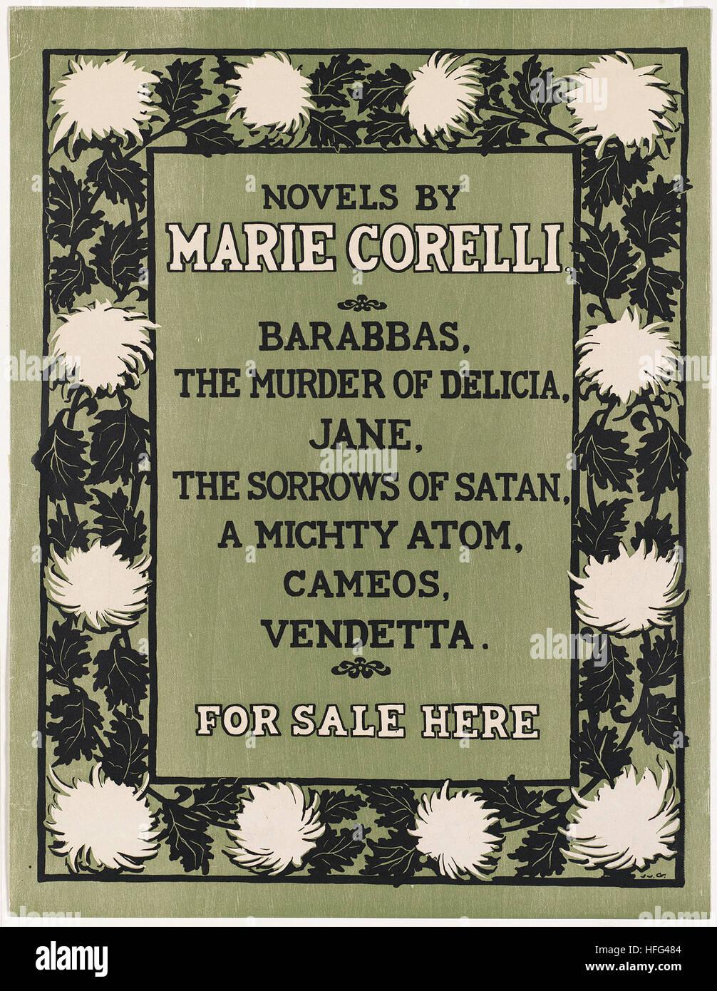Novels by Marie Corelli - Stock Image