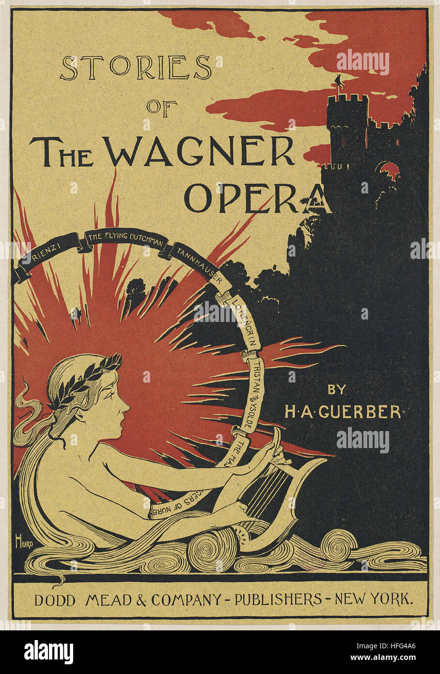 Stories of the Wagner opera by H. A. Guerber. - Stock Image