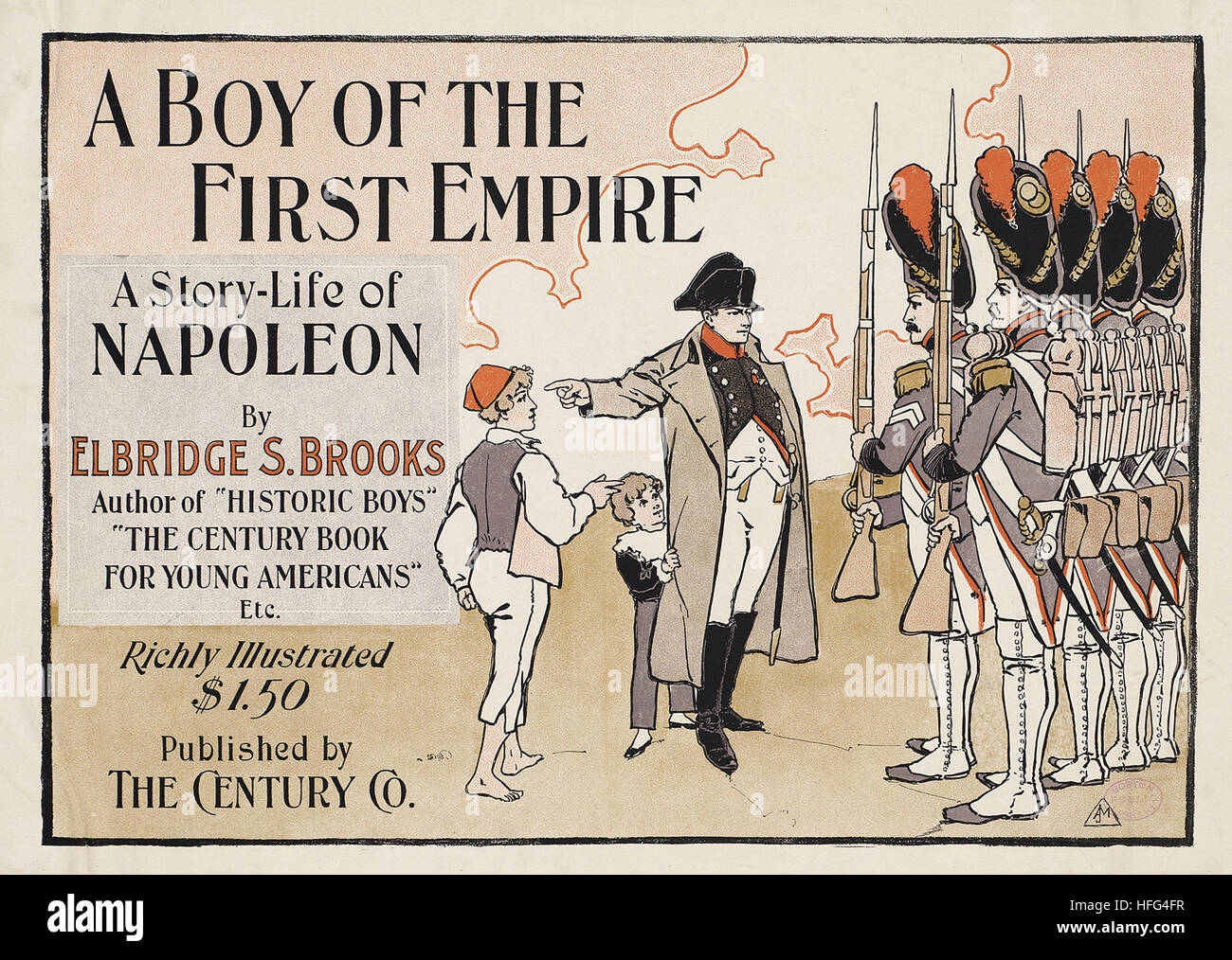 A boy of the First Empire, a story-life of Napoleon - Stock Image