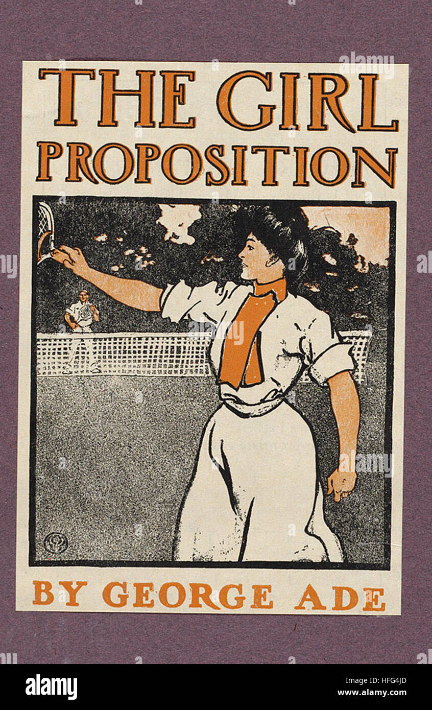 The girl proposition by George Ade - Stock Image