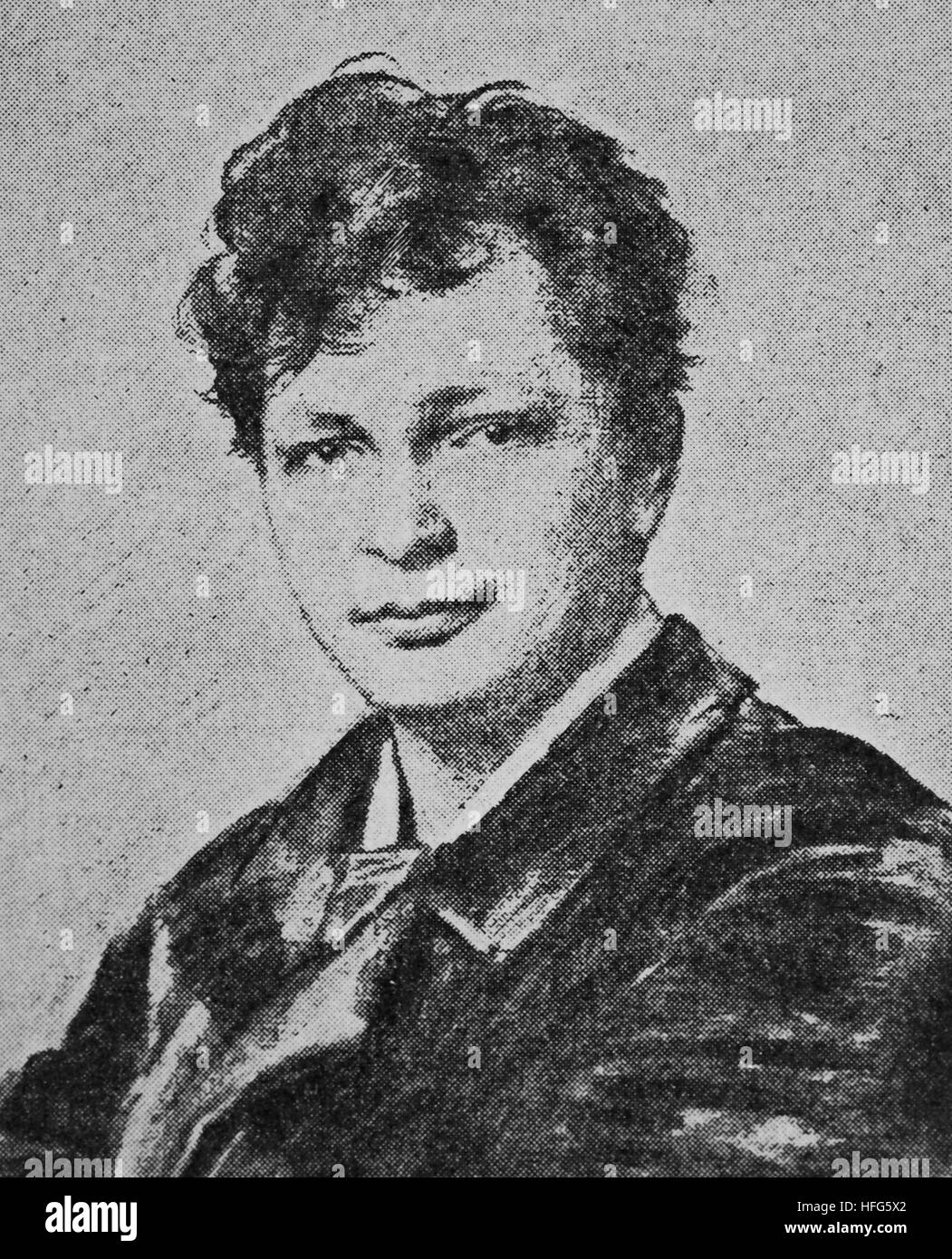 Karl Scheidemantel, 1859 - 1923, was a baritone singer, and later an opera director., reproduction photo from the - Stock Image