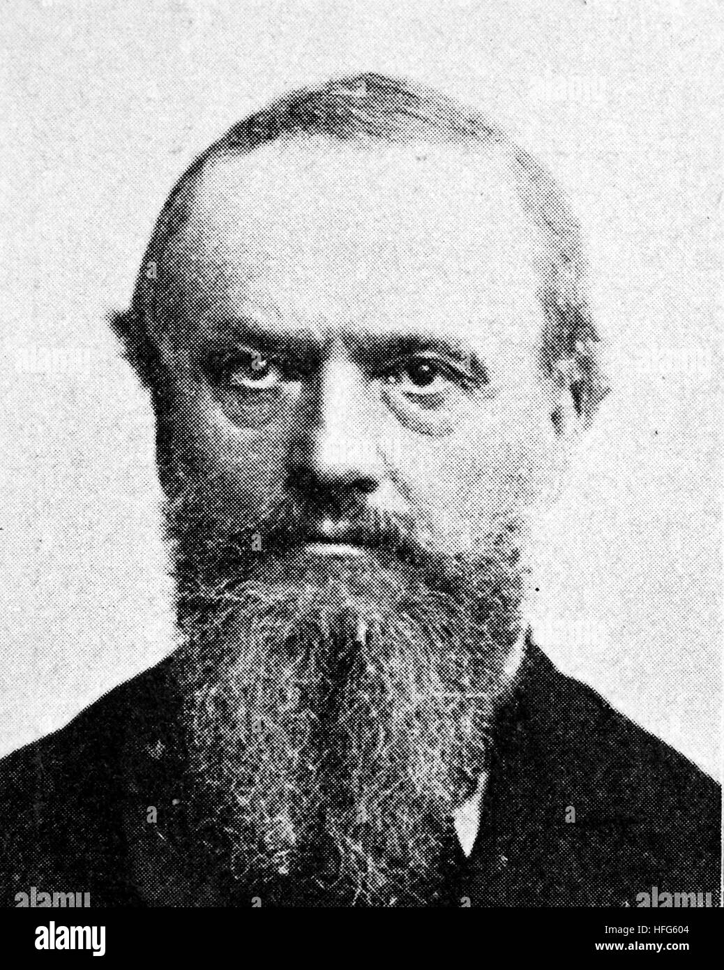 Paul Ludwig Adalbert Falk, 1827 - 1900, was a German politician, reproduction photo from the year 1895, digital - Stock Image