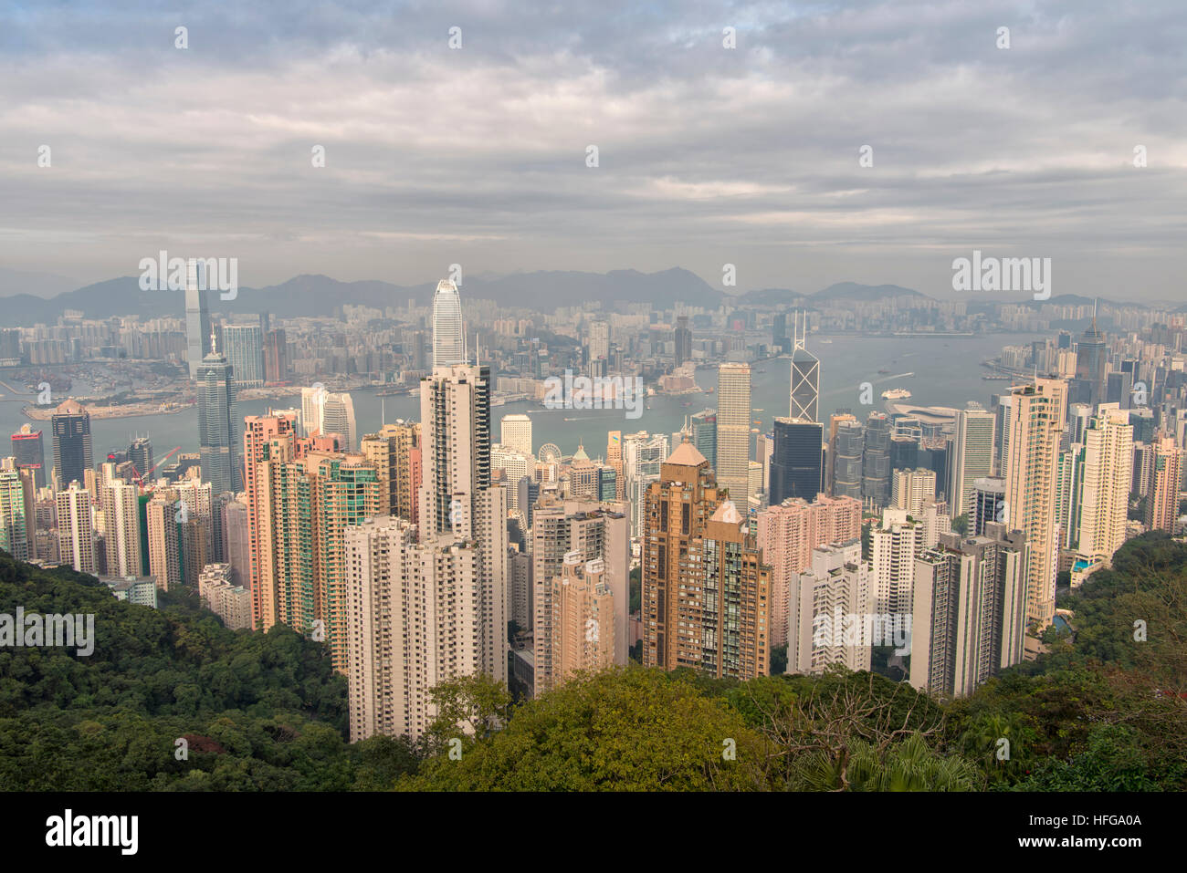 Hong Kong City, China - Stock Image