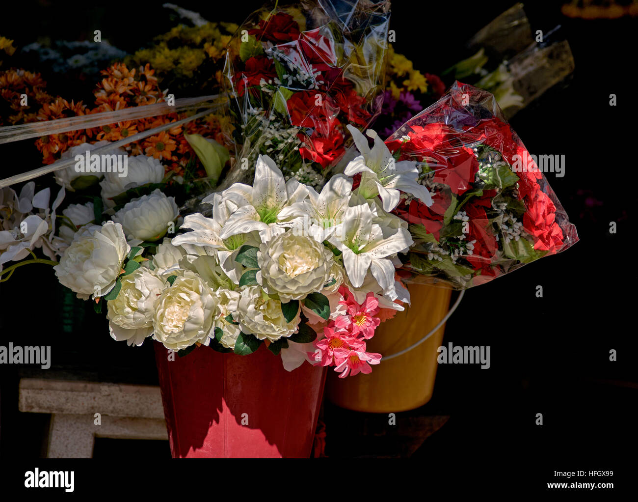 Flowers For Sale Artificial Stock Photos Flowers For Sale