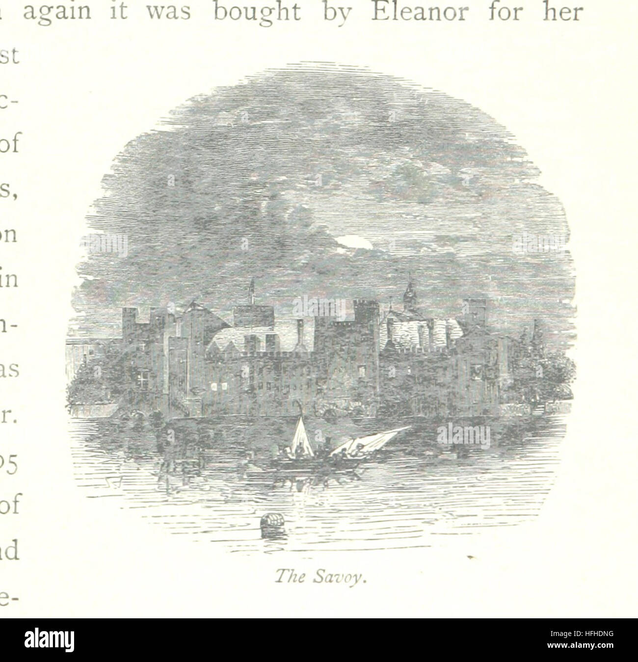 Image taken from page 155 of 'The Thames from its Source to the Sea ... Illustrated with ... engravings ... - Stock Image