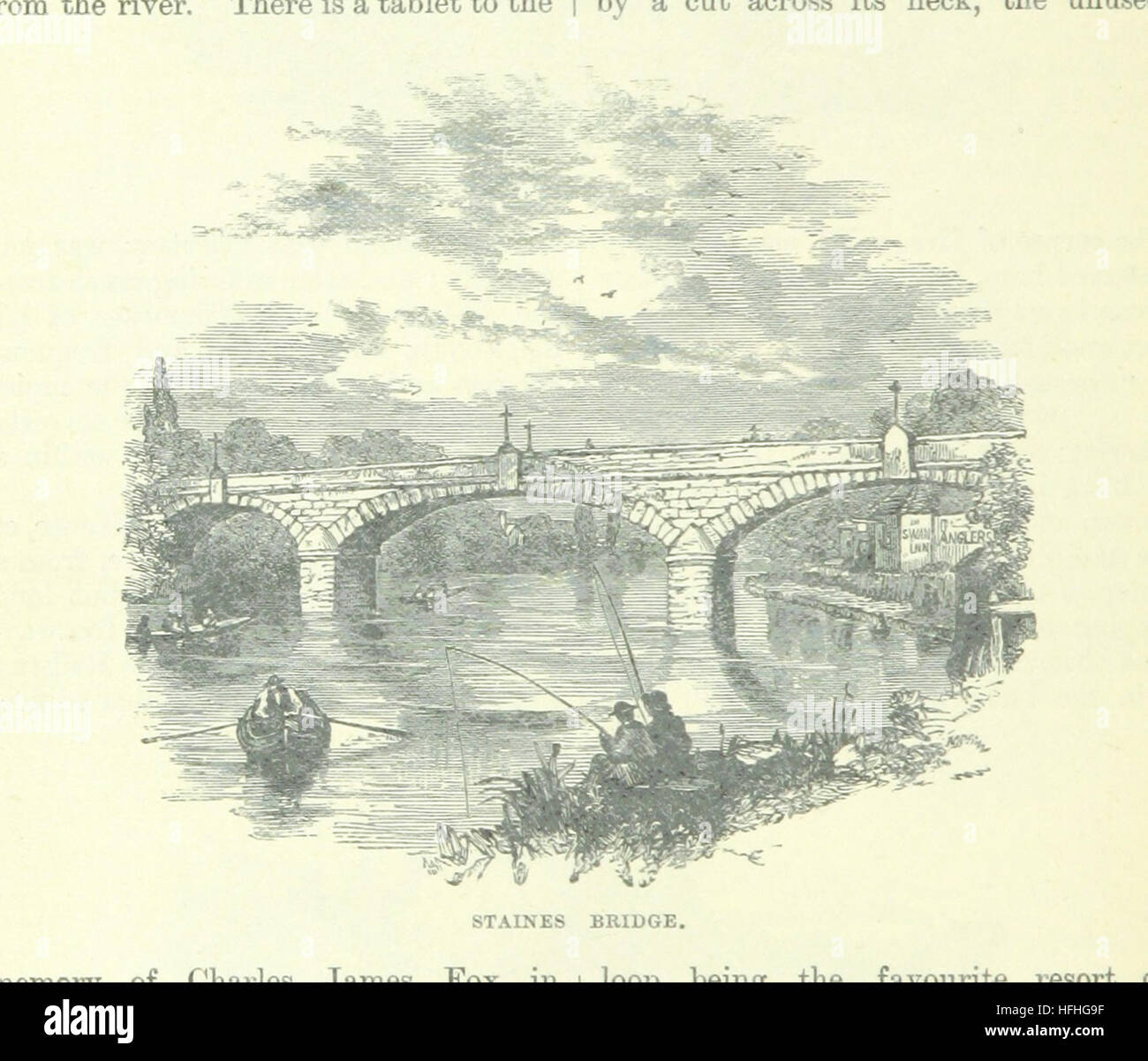 Image taken from page 104 of 'Up the River from Westminster to Windsor and Oxford; a descriptive panorama of - Stock Image