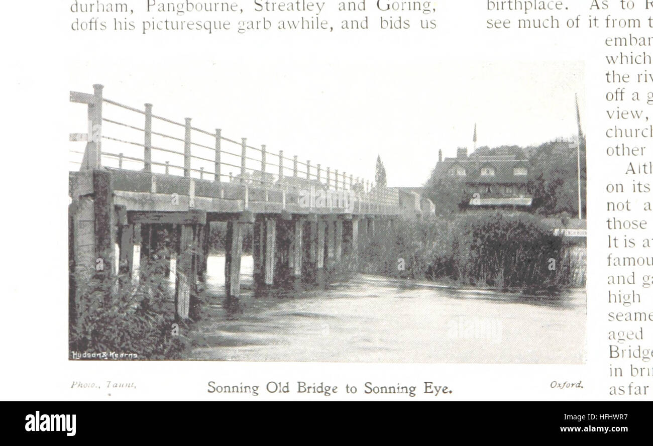 Image taken from page 186 of 'The Thames Illustrated. A picturesque journeying from Richmond to Oxford' - Stock Image