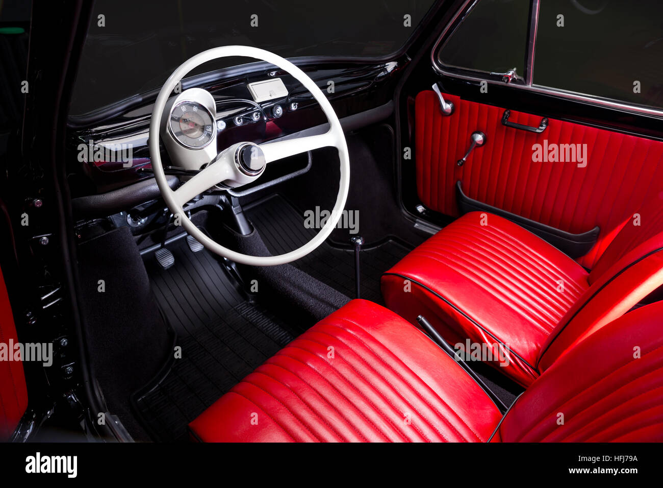 red leather interior of car stock photos amp red leather