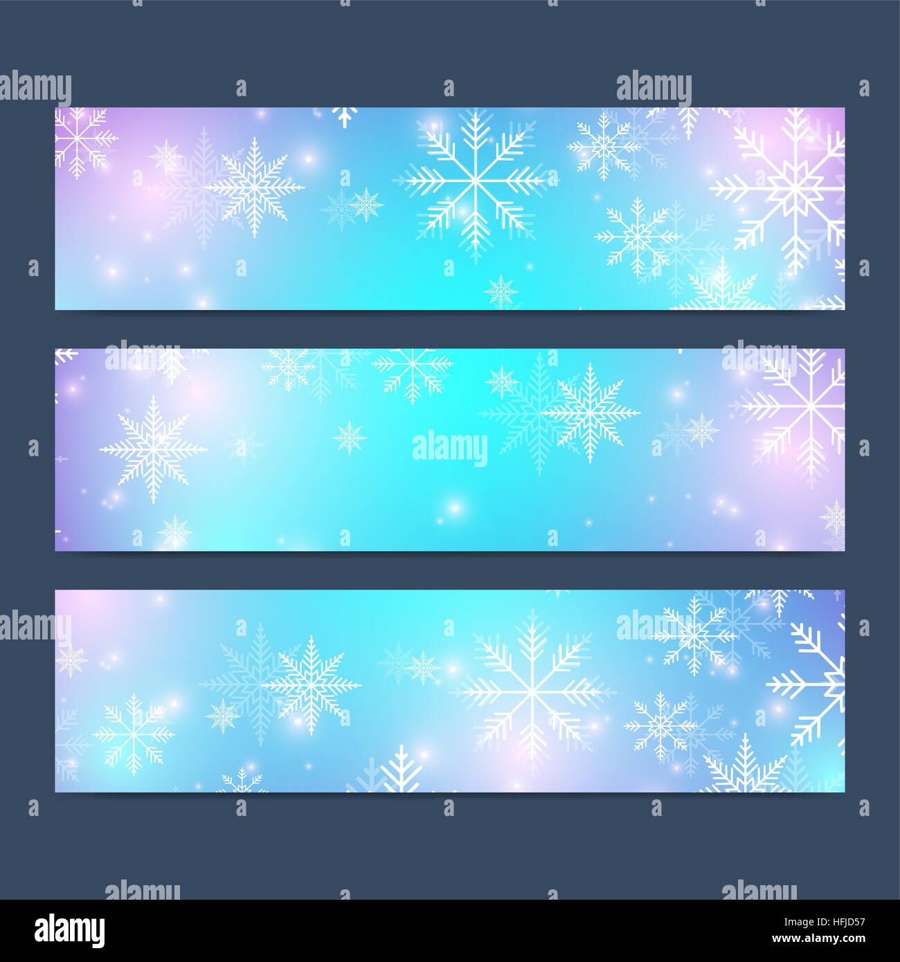 Modern happy new year set of vector banners christmas background modern happy new year set of vector banners christmas background design templates with snowflakes invitation cards surface stopboris Choice Image