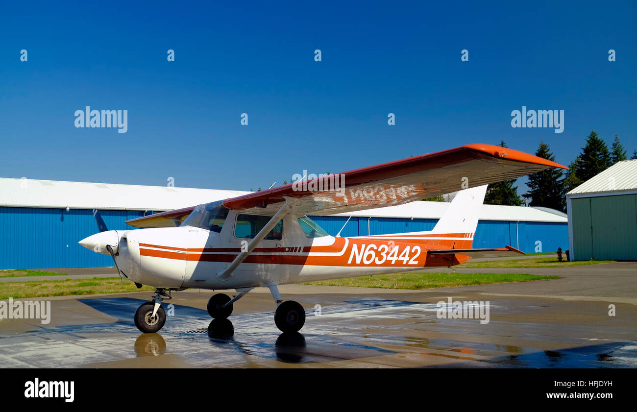 Cessna 150M 150HP airplane for sale Stock Photo: 130098517 - Alamy