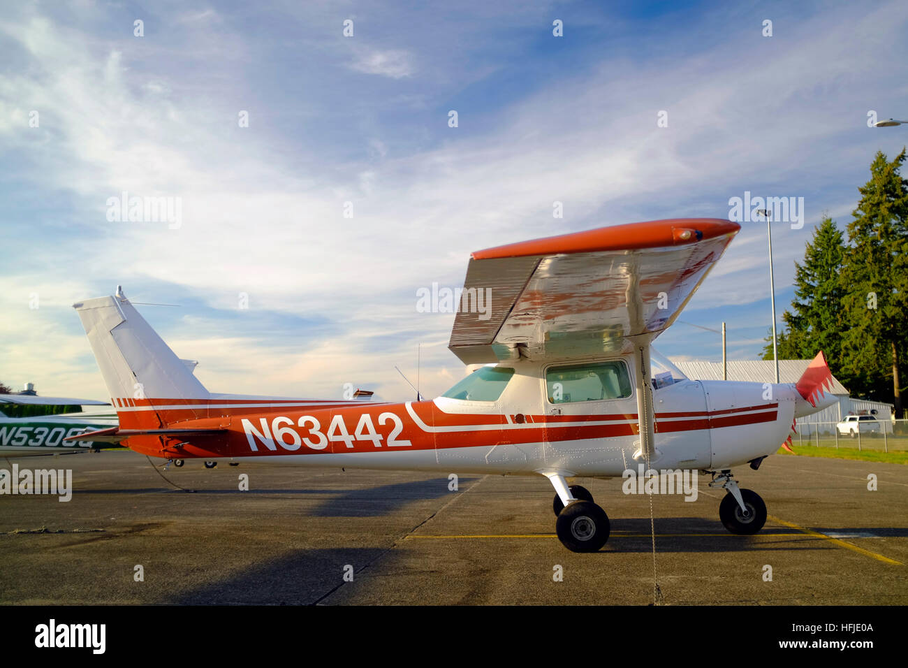 Cessna 150M 150HP airplane for sale Stock Photo: 130098538 - Alamy