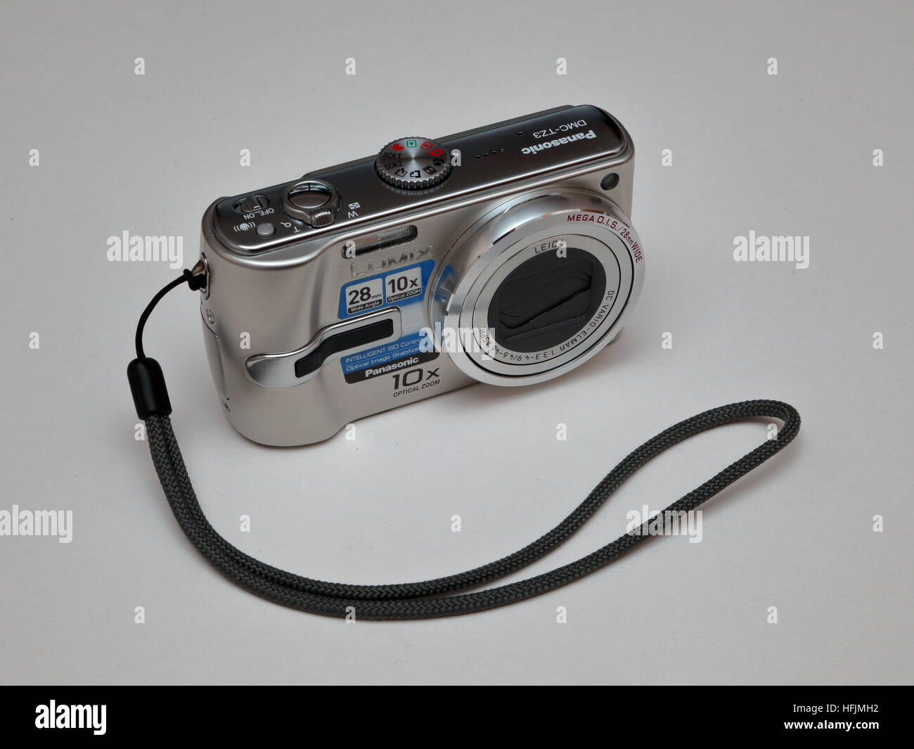 Panasonic Lumix DMC-TZ3 7.2Mpx Digital compact camera - Stock Image