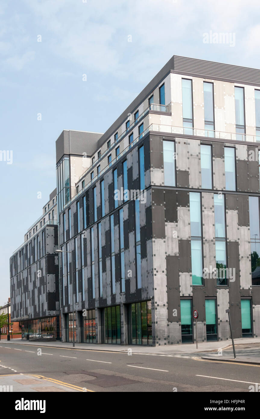 £25.2m Redmonds Building of Liverpool John Moores University by ADP Architecture in Brownlow Hill, Liverpool. - Stock Image