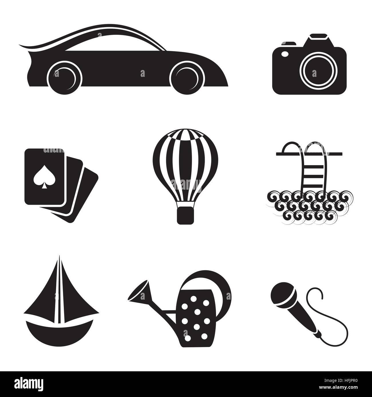 Hobby Interests Stock Illustrations – 176 Hobby Interests Stock  Illustrations, Vectors & Clipart - Dreamstime