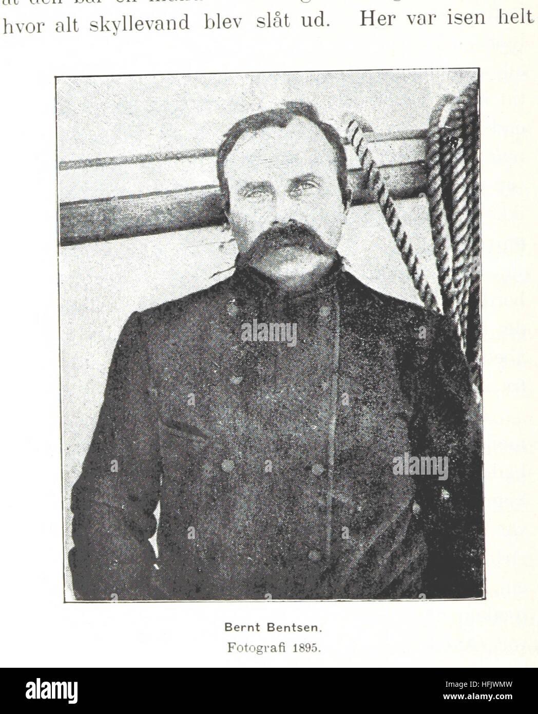 Image taken from page 1096 of 'Fram over Polhavet. Den norske Polarfærd 1893-1896. ... Med et Tillæg - Stock Image