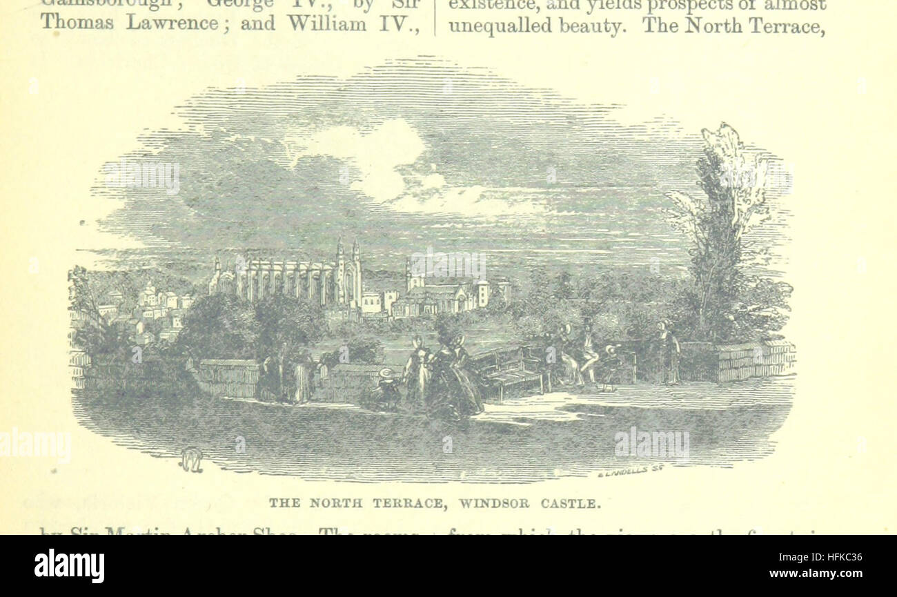 Image taken from page 119 of 'Up the River from Westminster to Windsor and Oxford; a descriptive panorama of - Stock Image