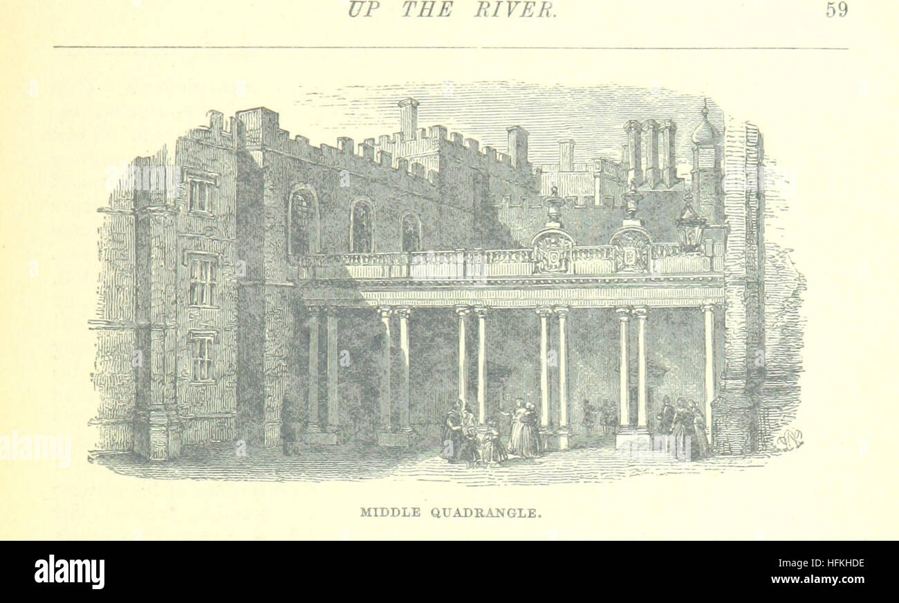 Image taken from page 89 of 'Up the River from Westminster to Windsor and Oxford; a descriptive panorama of - Stock Image