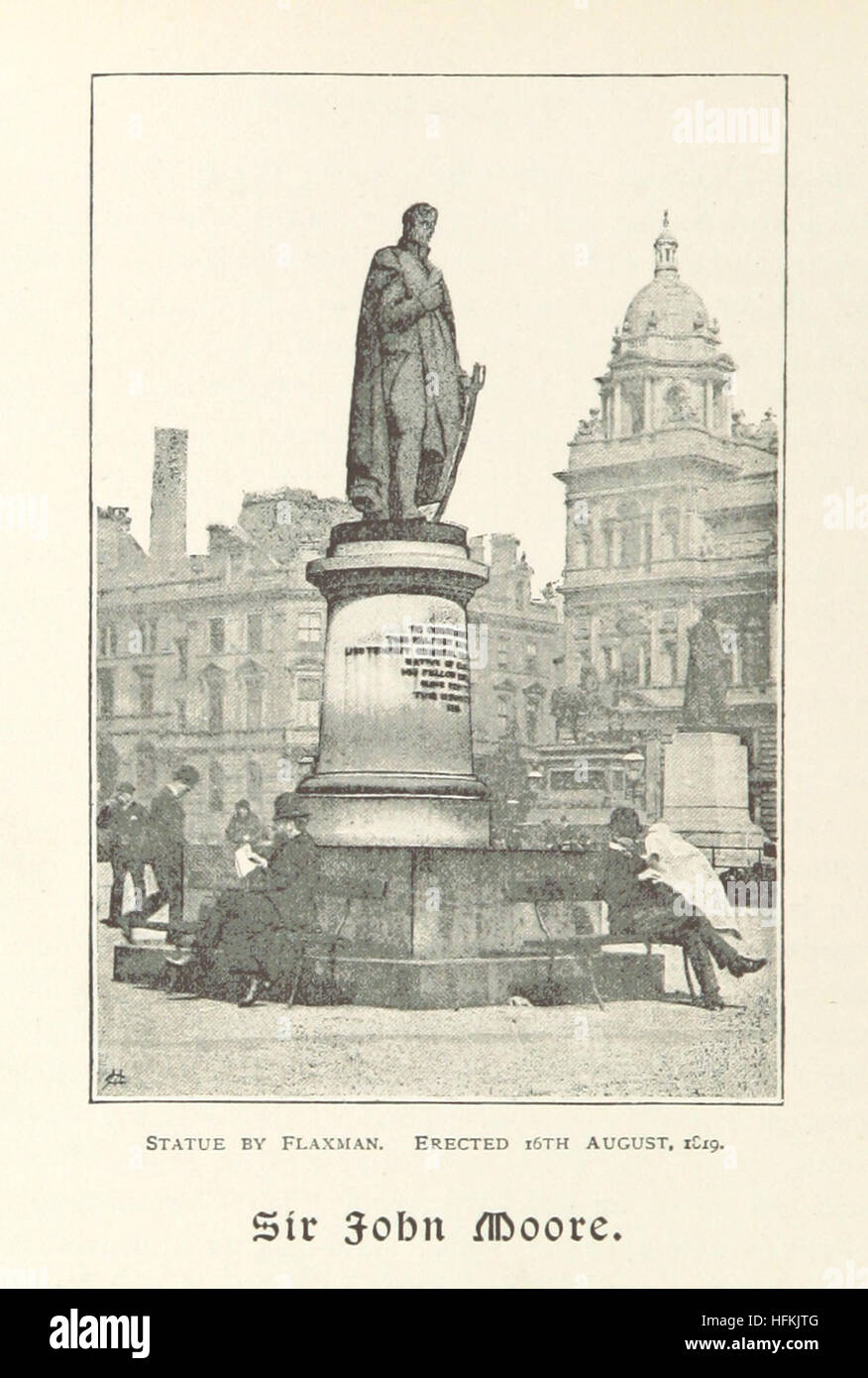 Image taken from page 92 of 'George Square, Glasgow; and the lives of those whom its statues commemorate, etc' - Stock Image