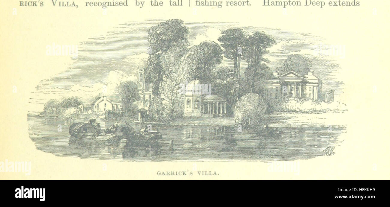 Image taken from page 93 of 'Up the River from Westminster to Windsor and Oxford; a descriptive panorama of - Stock Image