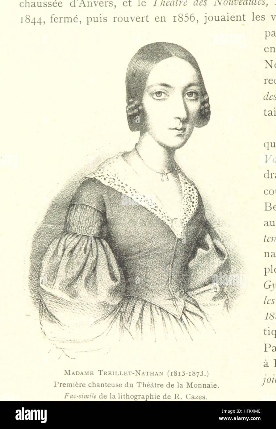 Image taken from page 280 of 'Bruxelles à travers les àges. (Troisième volume ... par H. Hymans, P. Hymans.)' - Stock Image