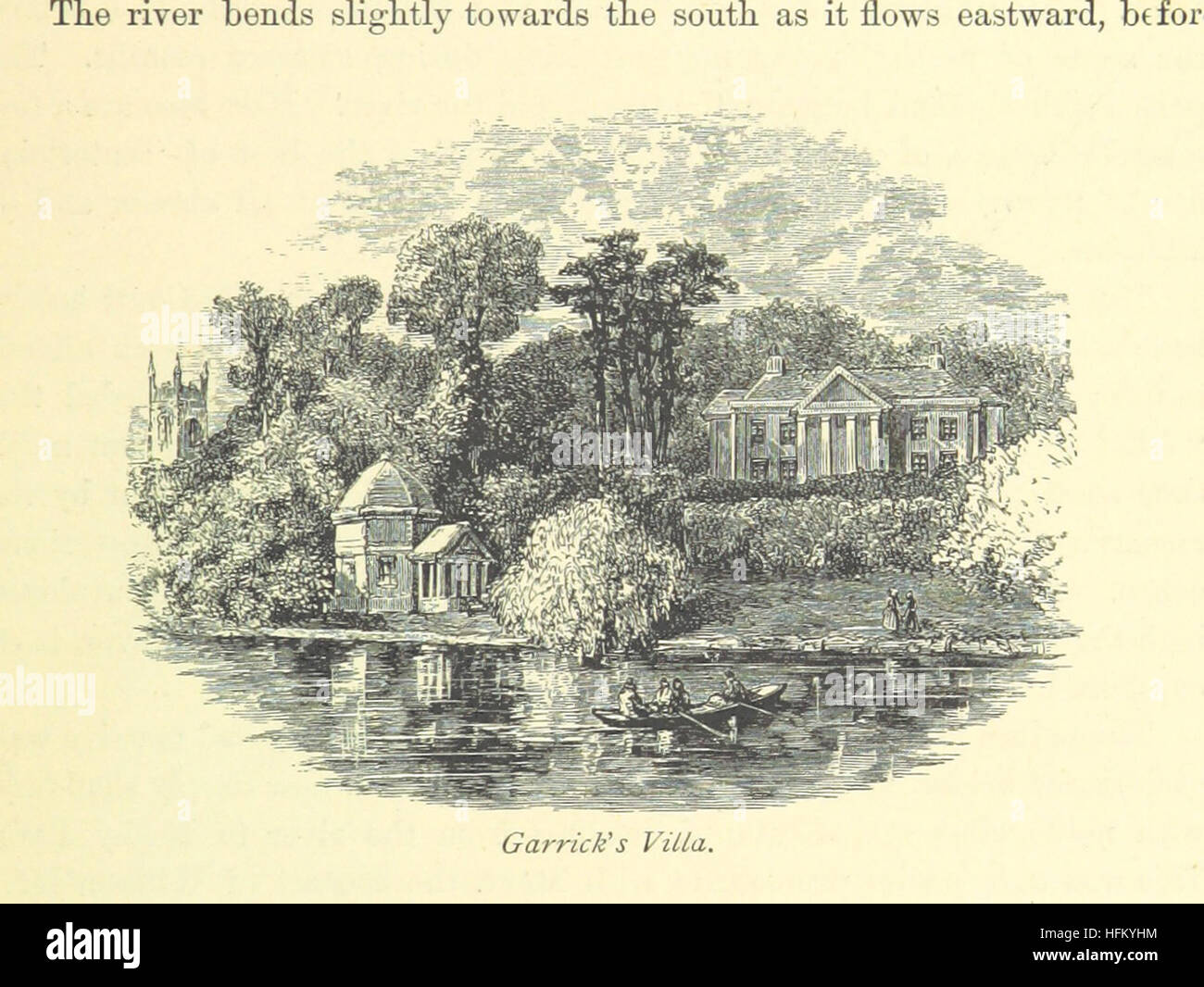 Image taken from page 283 of '[The book of the Thames.]' Image taken from page 283 of '[The book of - Stock Image