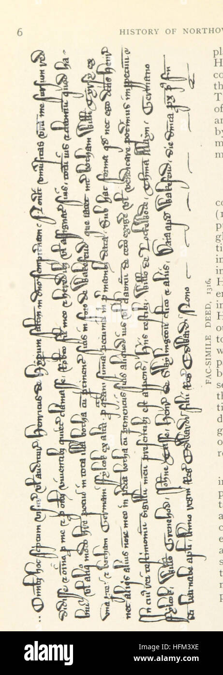 Image taken from page 30 of 'Northowram, W. R. Yorks: its history and antiquities. With a life of Oliver Heywood, Stock Photo