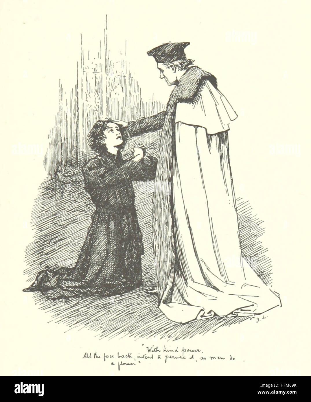 Image taken from page 31 of 'The Duke's Ward: a romance of Old Kent, etc' Image taken from page 31 of - Stock Image