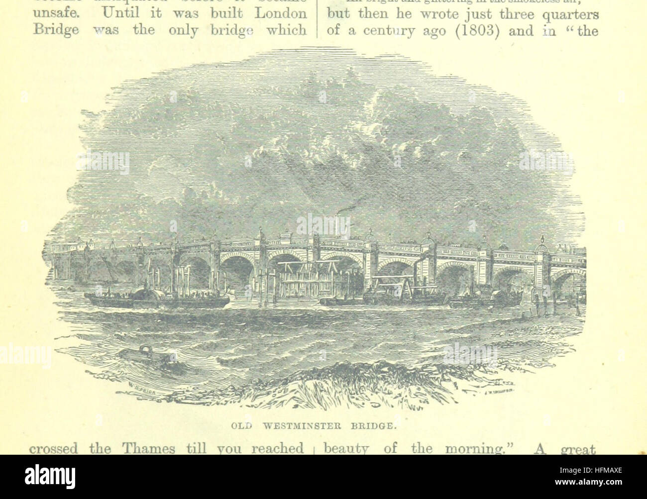 Image taken from page 33 of 'Up the River from Westminster to Windsor and Oxford; a descriptive panorama of - Stock Image