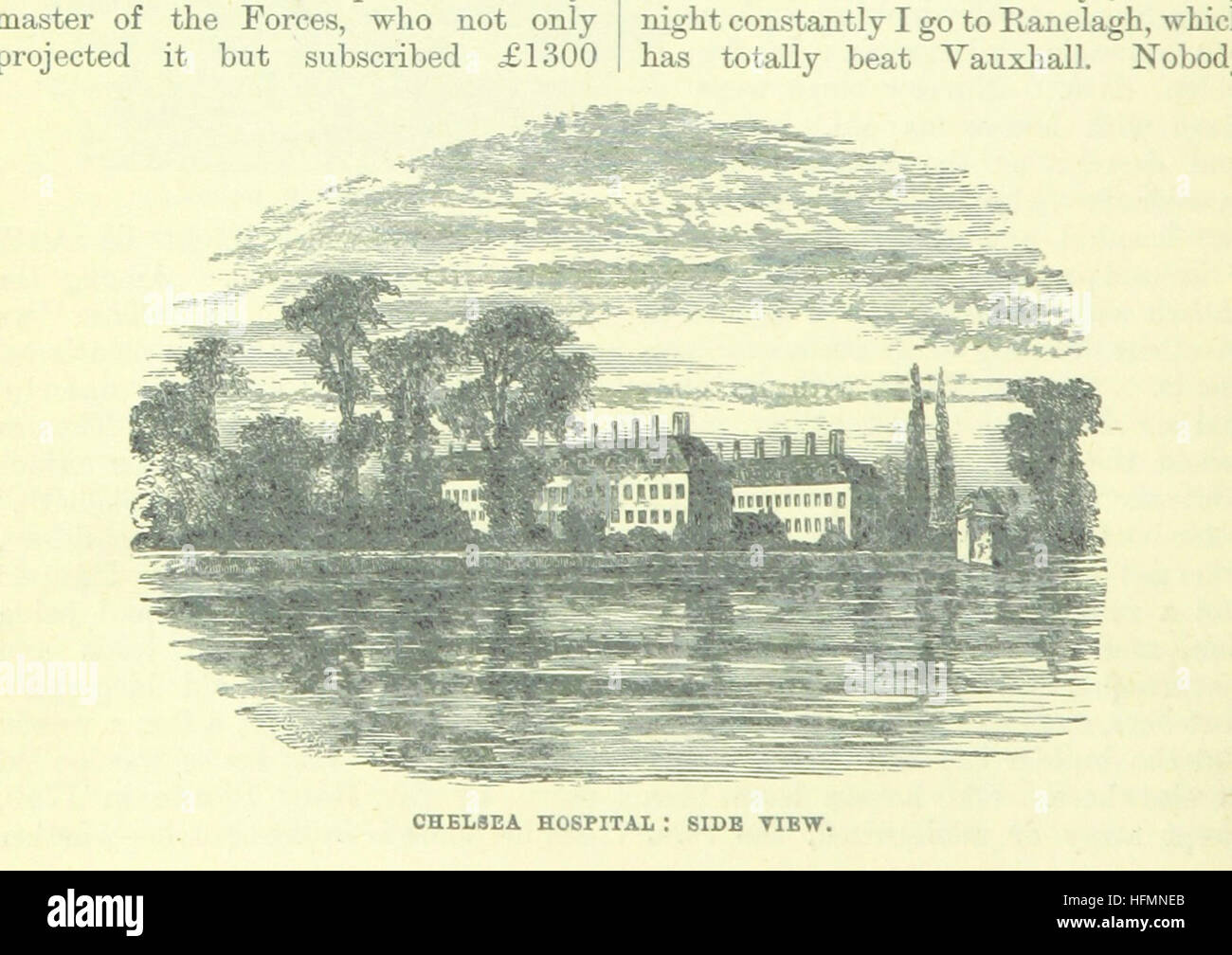 Image taken from page 38 of 'Up the River from Westminster to Windsor and Oxford; a descriptive panorama of - Stock Image