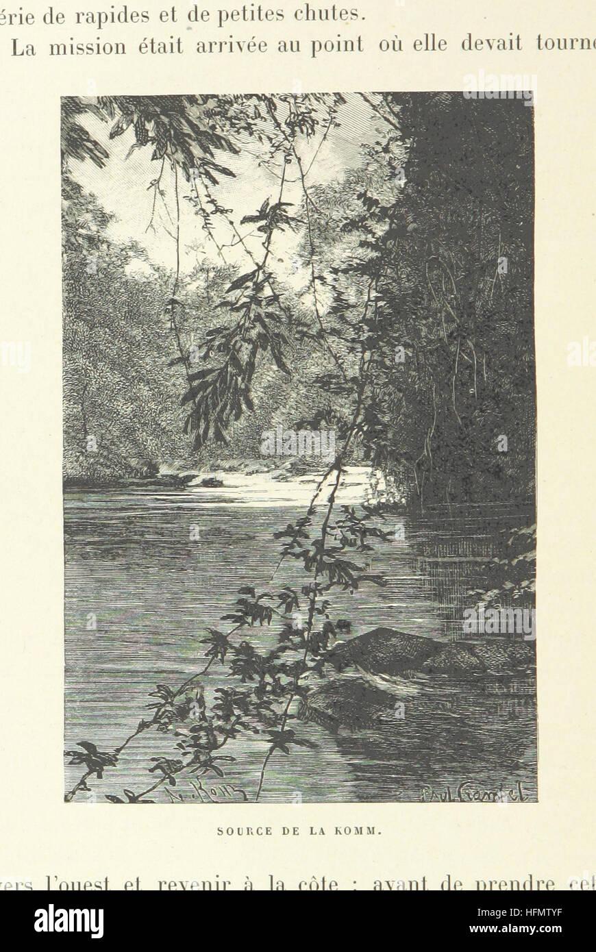 A la Conquête du Tchad. Avec 29 gravures, etc Image taken from page 40 of 'A la Conquête du - Stock Image