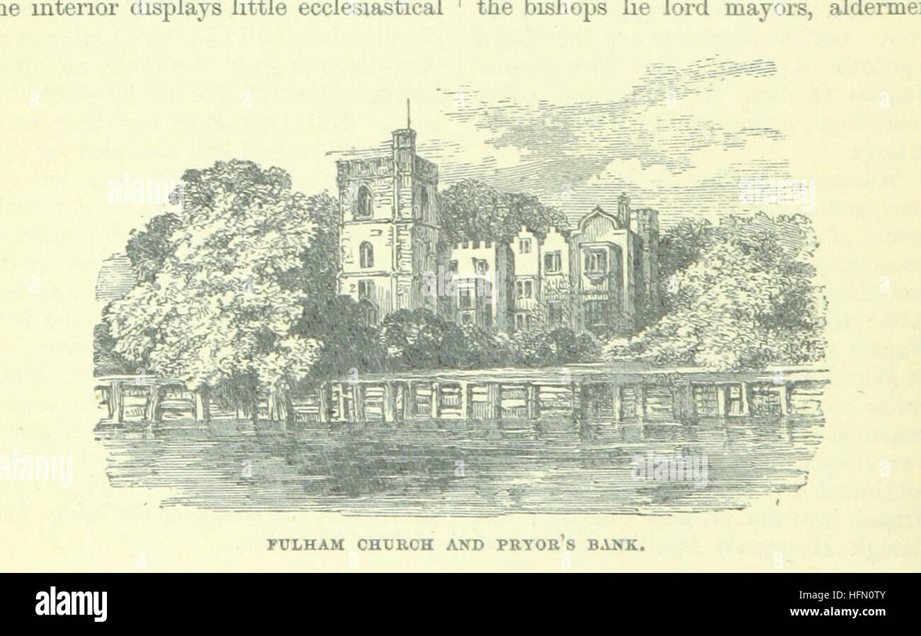 Image taken from page 42 of 'Up the River from Westminster to Windsor and Oxford; a descriptive panorama of - Stock Image