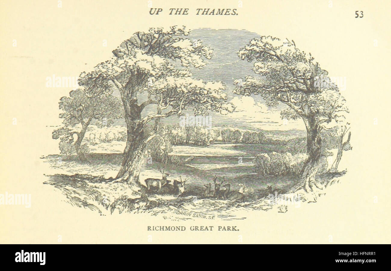 Image taken from page 59 of 'The Tiber and the Thames. Their associations, past and present. With ... illustrations' - Stock Image