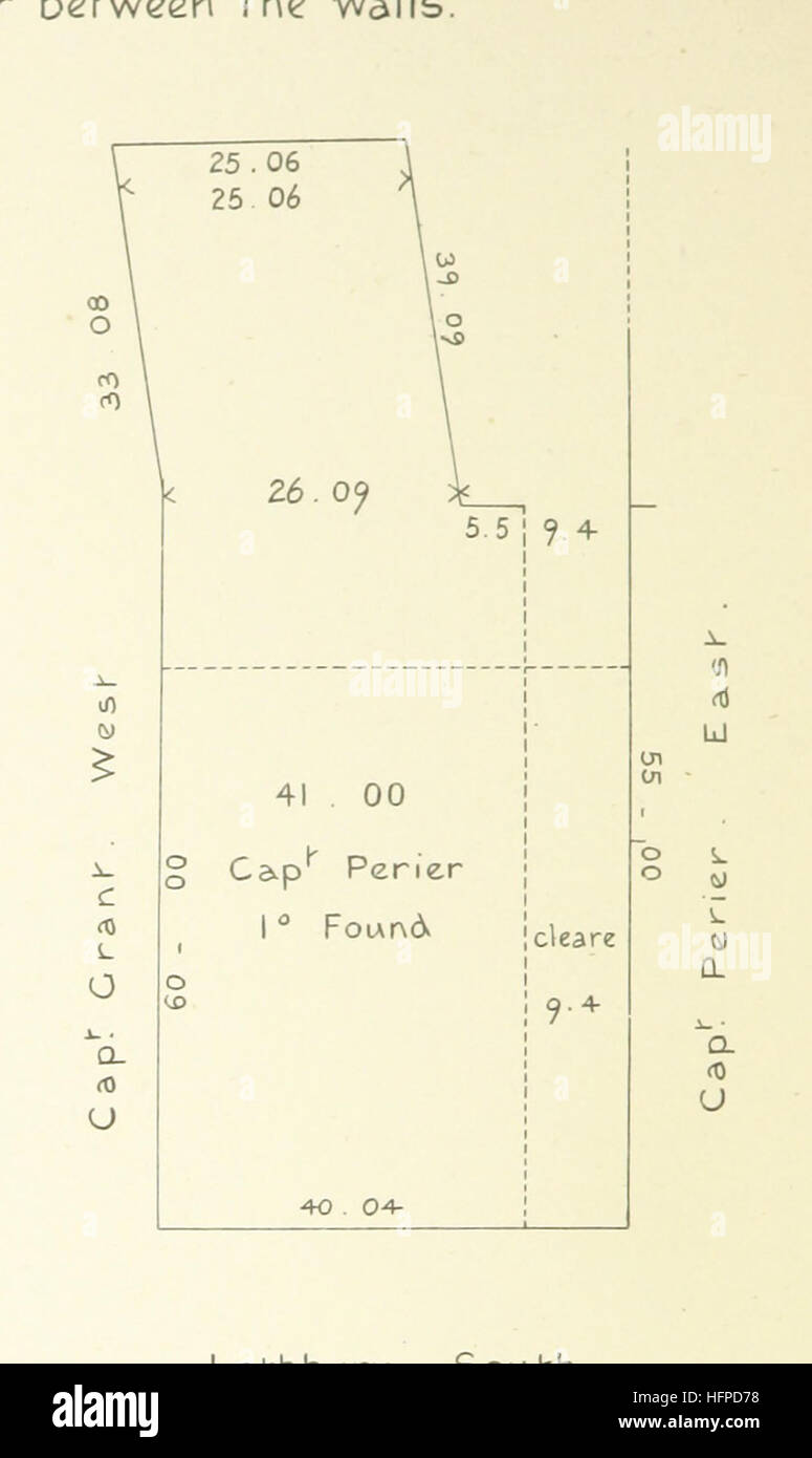 Image taken from page 80 of 'The Vestry Minute Book of the parish of St. Margaret Lothbury in the City of London, - Stock Image