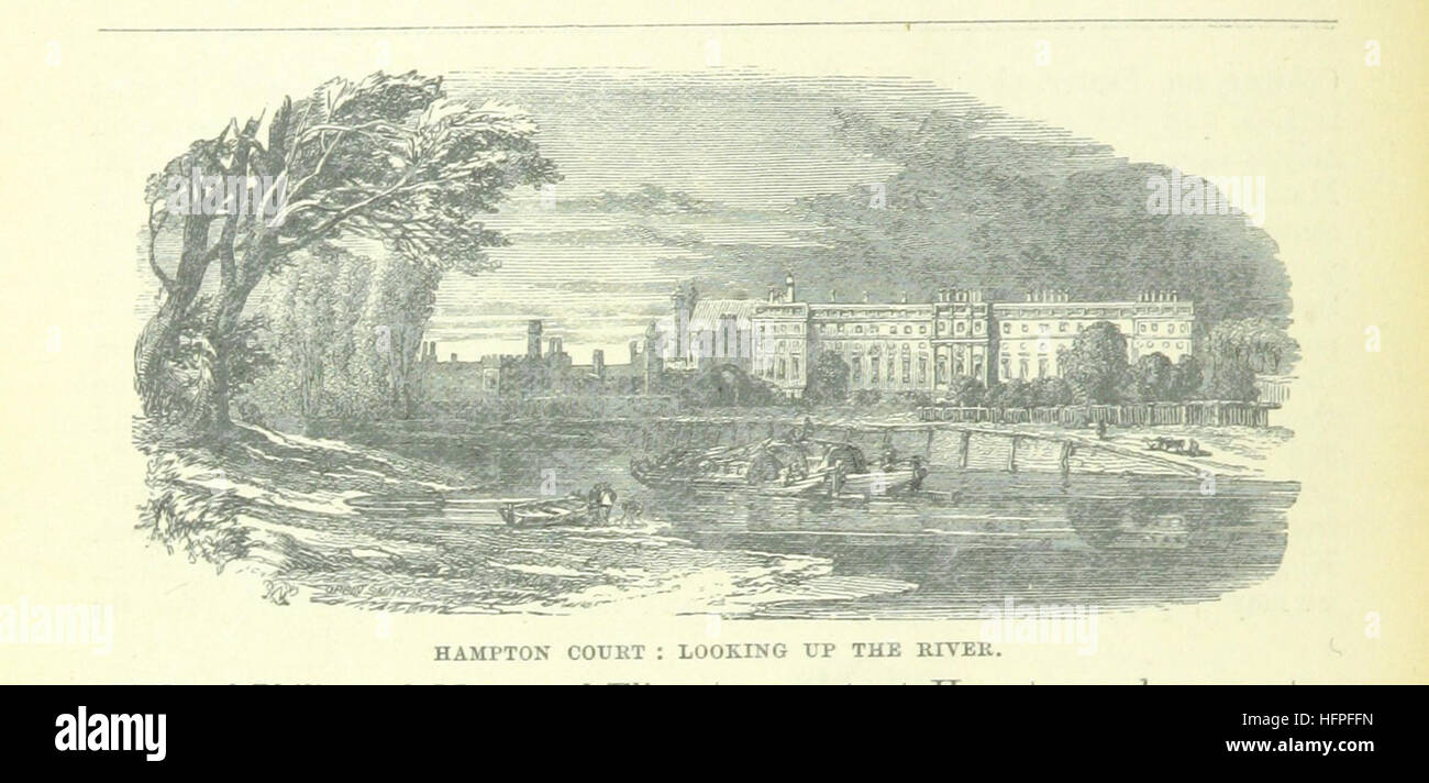 Image taken from page 84 of 'Up the River from Westminster to Windsor and Oxford; a descriptive panorama of - Stock Image