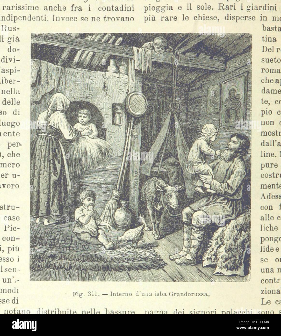 Image taken from page 848 of 'La Terra, trattato popolare di geografia universale per G. Marinelli ed altri - Stock Image