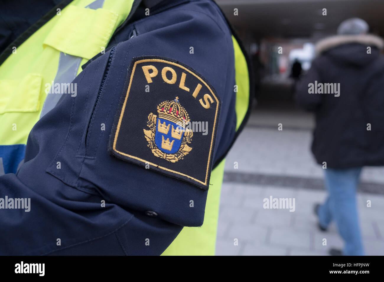Police badge. - Stock Image