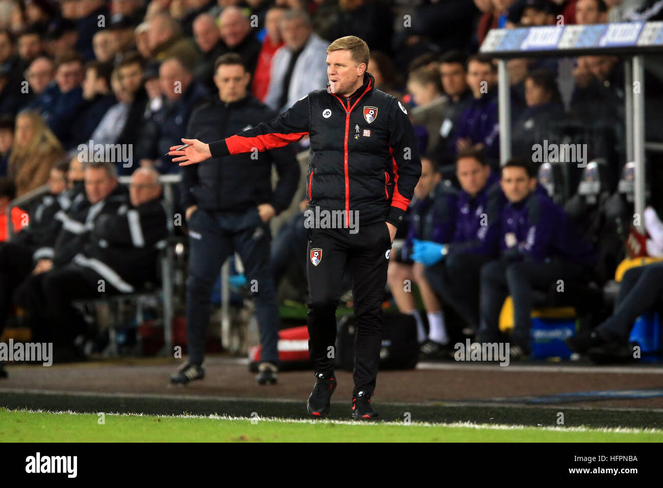 Afc Bournemouth Manager Eddie Howe Stock Photos Afc Bournemouth