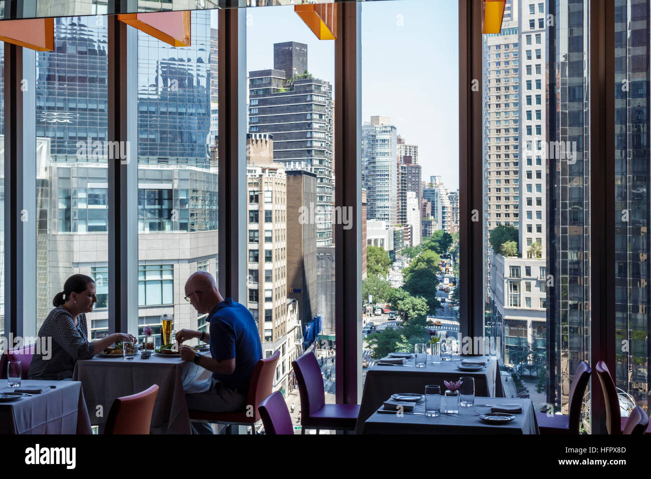 Manhattan New York City Nyc Ny Columbus Circle Museum Of
