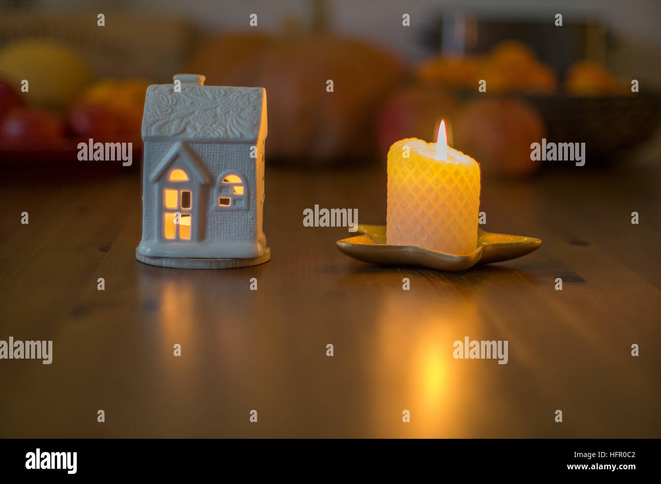 Home sweet home cosy homelike homely hygge - Stock Image