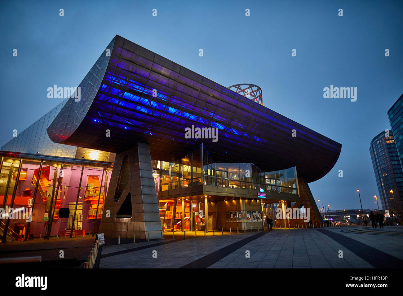 Nice Manchester Salford Lowry Art Theatre Center Architect Property Properties  Building Development Developed Structure Property Architectural Design De