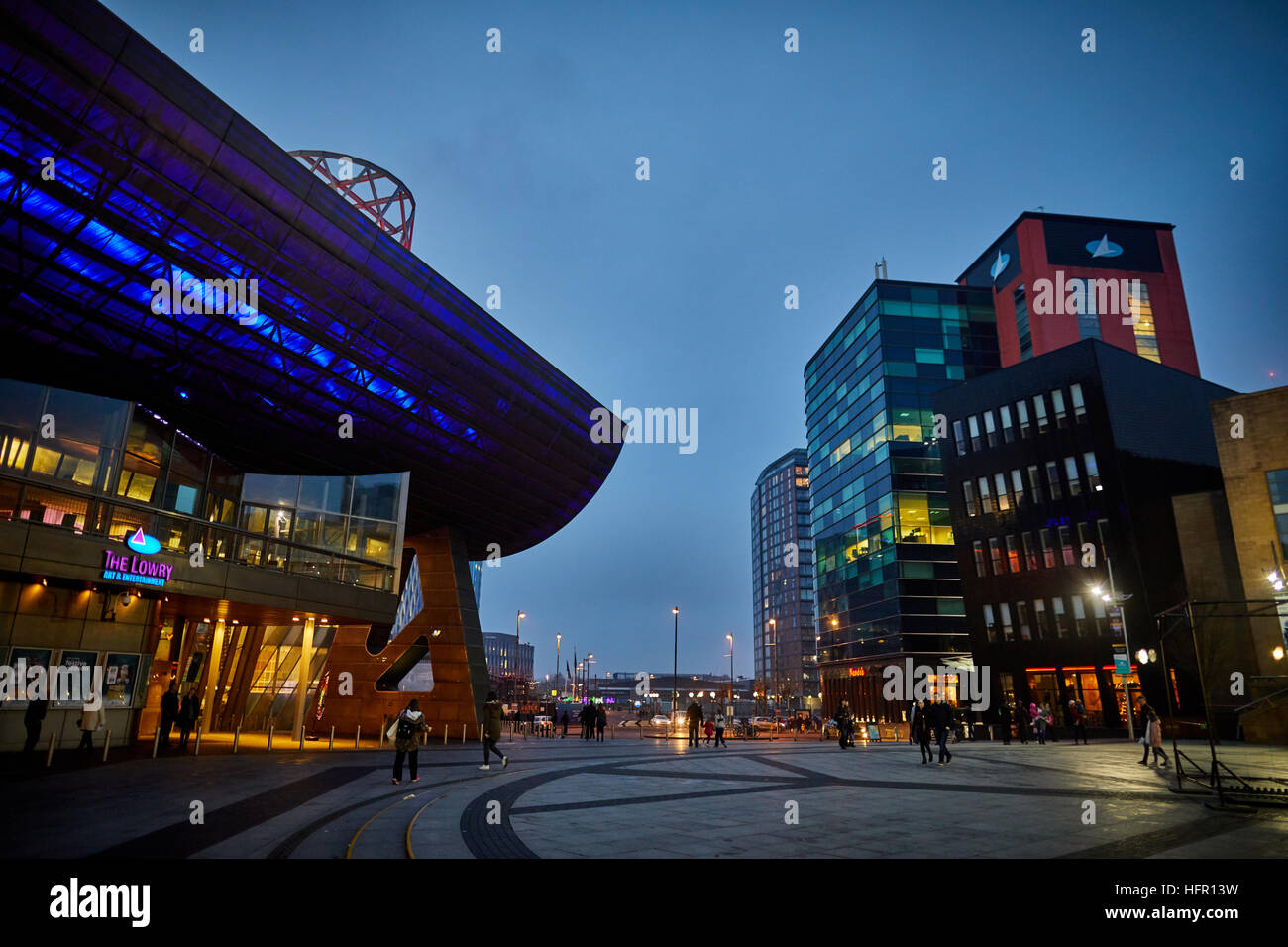 Manchester Salford Lowry Art Theatre Center Architect Property Properties  Building Development Developed Structure Property Architectural Design De