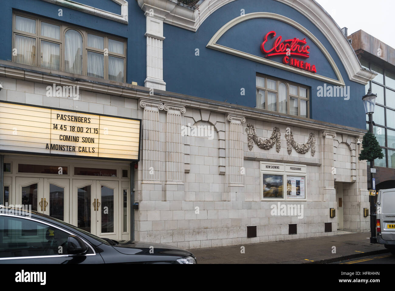 The Electric Cinema, Portobello Road, London, England. December 2016 - Stock Image