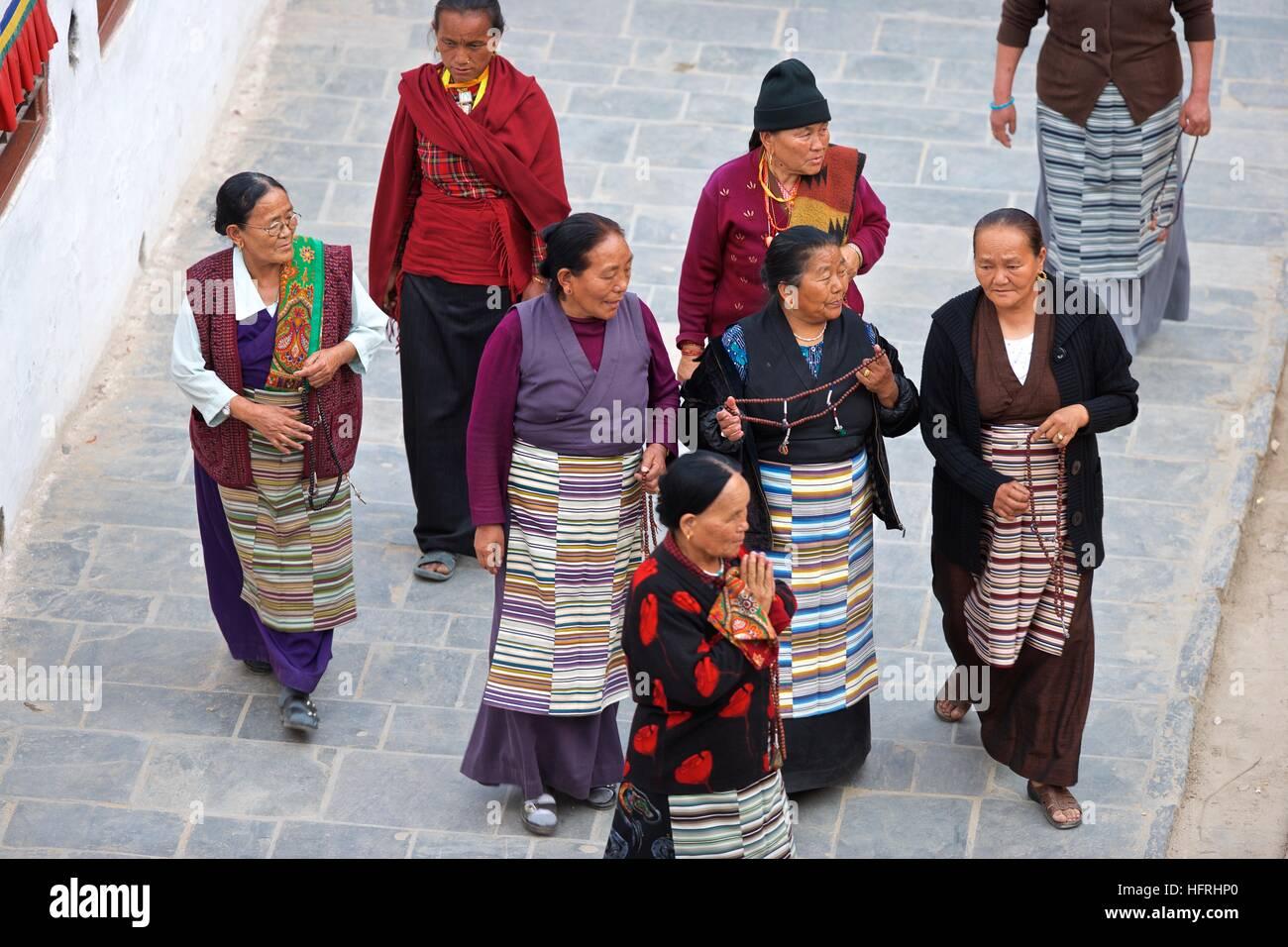 b49f98234 Nepal Kathmandu Asia local traditional dress women attire costume custom  religion candid