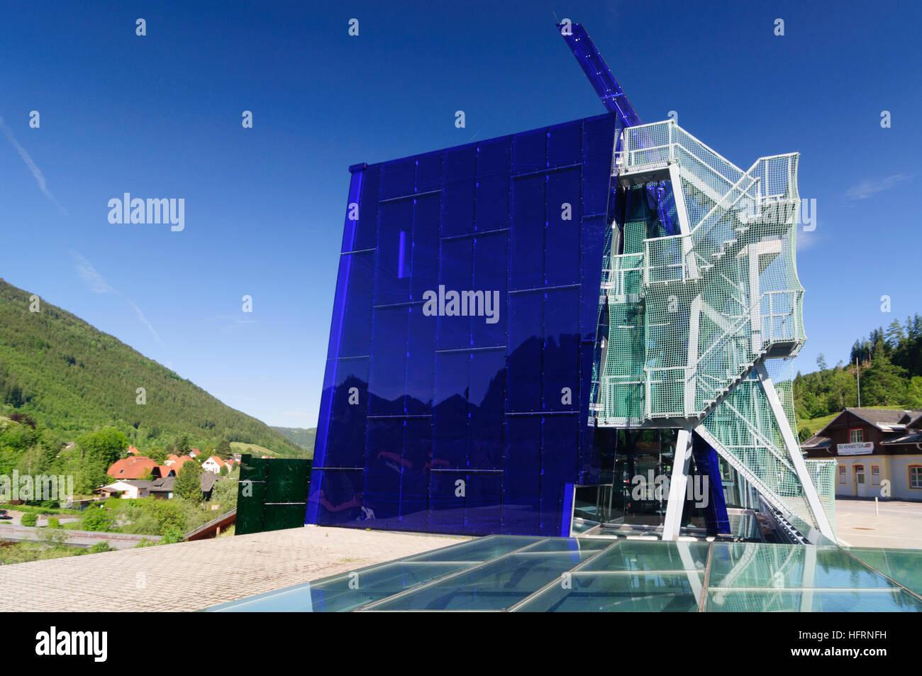 Murau: Building of the district management office, Murtal, Steiermark, Styria, Austria - Stock Image